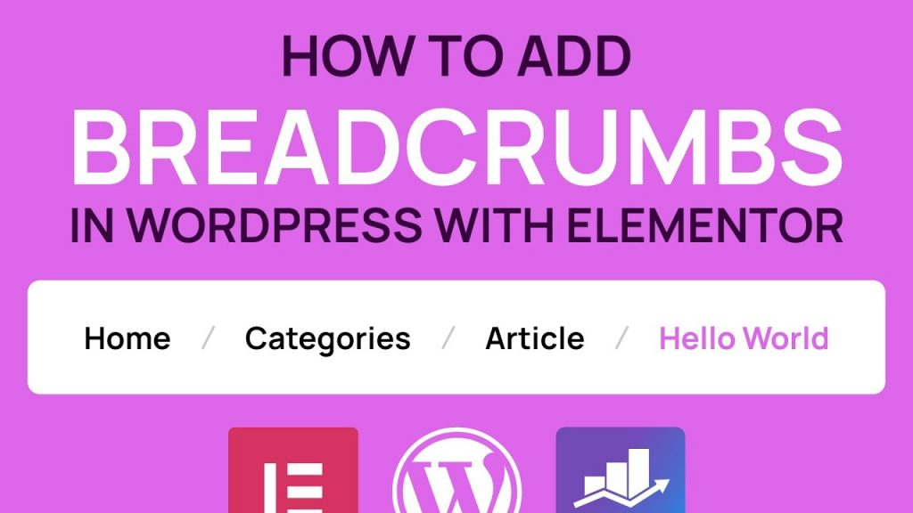 How to add Breadcrumbs to your pages, articles and products