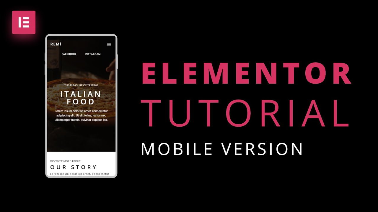 Elementor Tutorial: How to make a responsive website for mobile in WordPress