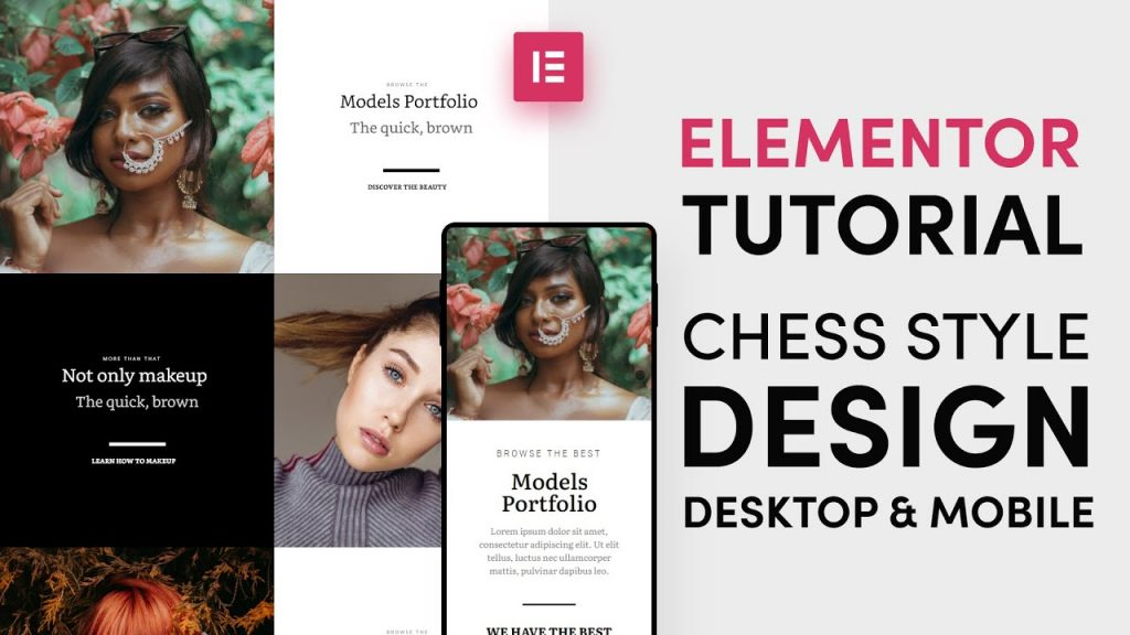 How to make chess style sections with Elementor in a few minutes